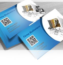Przykładowe Wizytówki Firm Budowlanych ładne Projekty